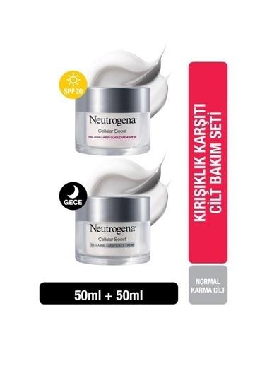 Neutrogena Kırışıklık Karşıtı Cilt Bakım Seti Renksiz